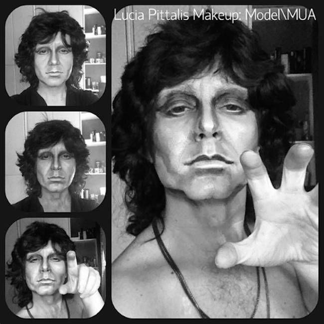 Jim Morrison Holy Crap Make Up Transformations Makeup