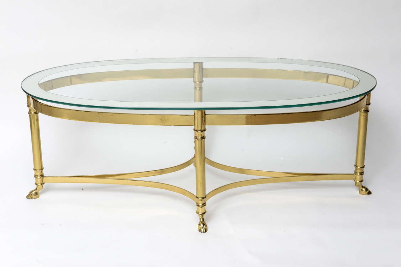 20 Brass Oval Coffee Table Used Home Office Furniture Check More At Http Www Buzzfolder Glass Top Coffee Table Oval Glass Coffee Table Coffee Table Setting [ 854 x 1280 Pixel ]