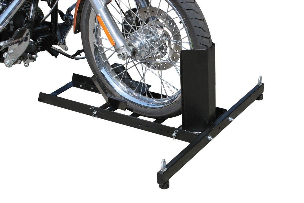 1800 Lb Capacity Motorcycle Stand Wheel Chock In 2021 Motorcycle Stand Bike Repair Stand Bike Repair