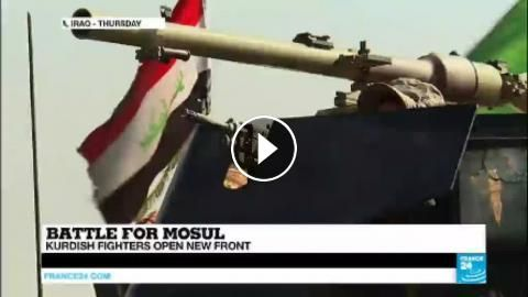 Iraq: ISIS claims attacks in Kirkuk, Kurdish, Iraqi fighters make major push in the Battle for Mosul: Subscribe to France 24 now : FRANCE…