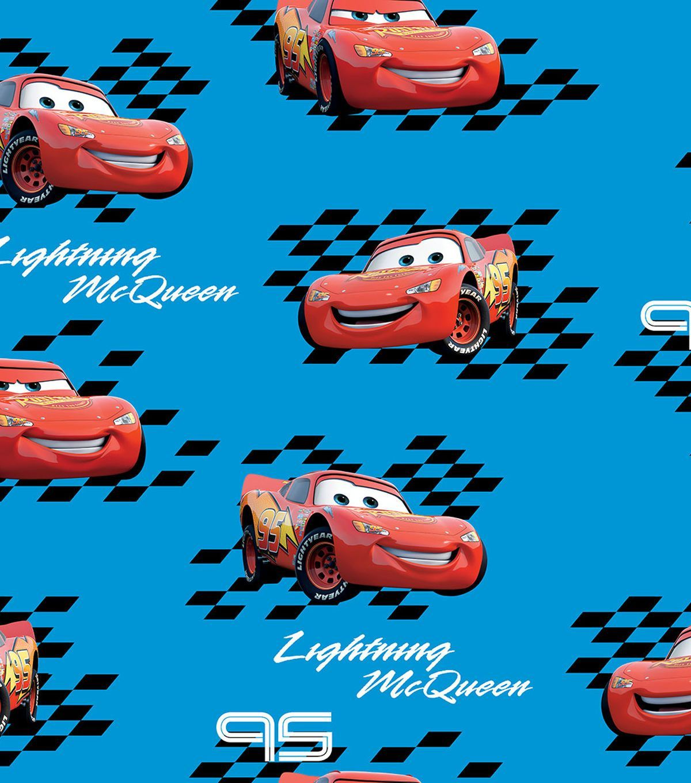 Disney cars mcqueen ultra fluffy fleece fabric products pinterest
