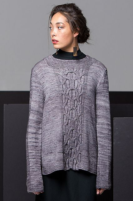 Ravelry: Bowery Tunic pattern by Linda Marveng