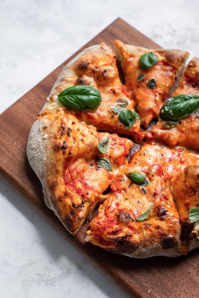 Easy Overnight Pizza Dough Rezept Pizza Teig Pizzateig Rezept Selbstgemachte Pizza