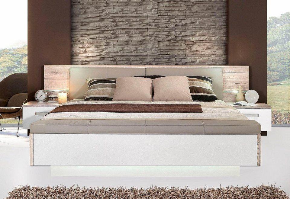 FORTE SchlafzimmerSet »Rondino,«, mit Polsterkopfteil und