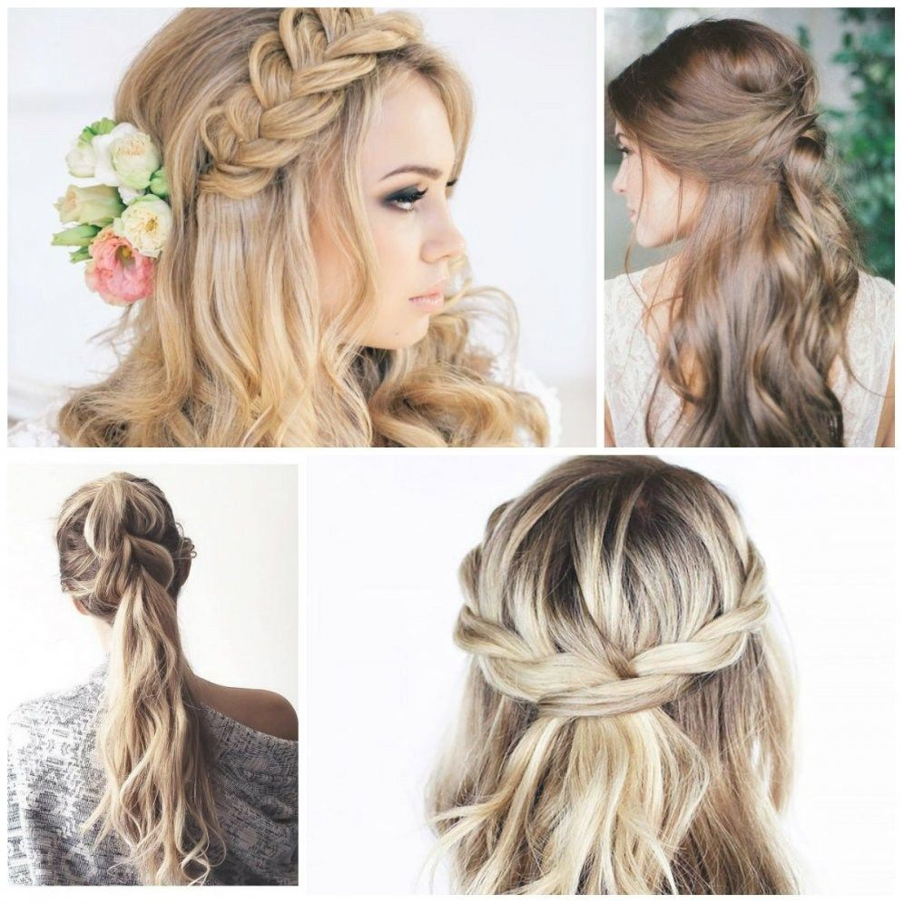 Half Up Half Down Hairstyles For Wedding Guest | Wedding and Weddings