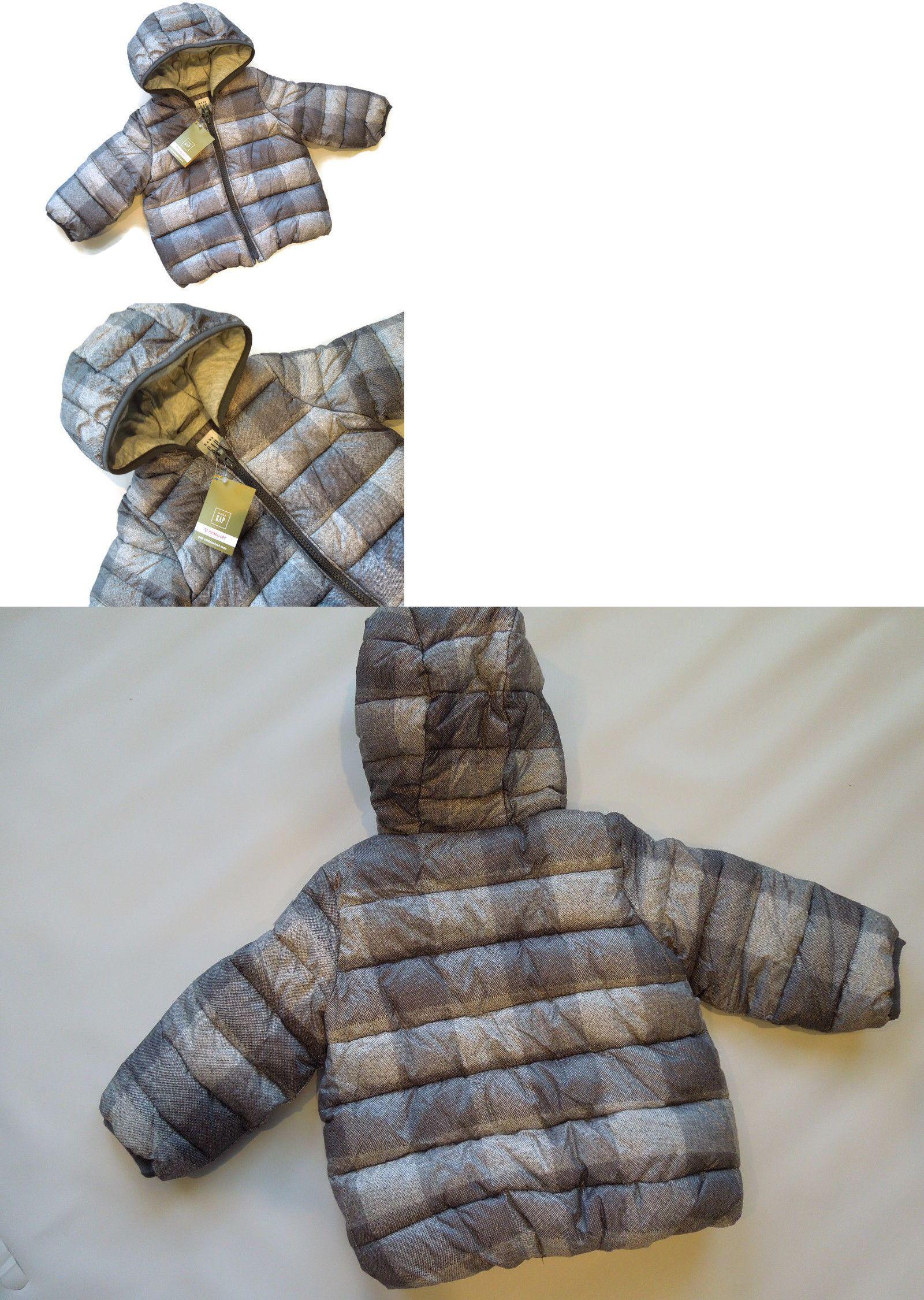 1c7445024660 Outerwear 147324  Baby Gap Boys Winter Jacket Puffer Coat Primaloft ...