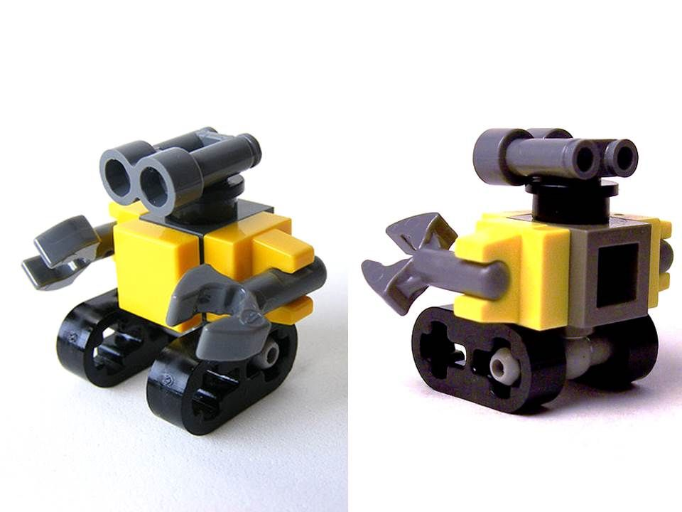 Mini Lego Wall E Lego Ideas Pinterest Lego Lego Wall And Lego