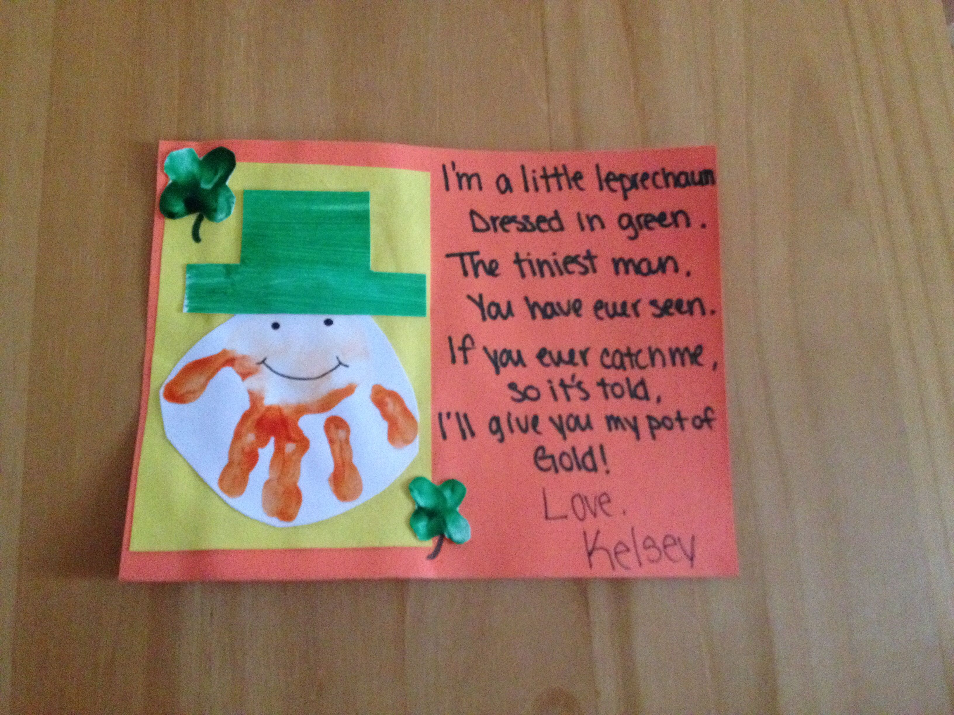 St Patrick S Day Craft For Kids