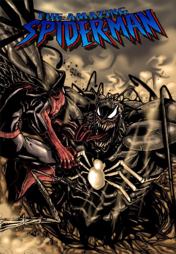 Spider-man by *nefar007