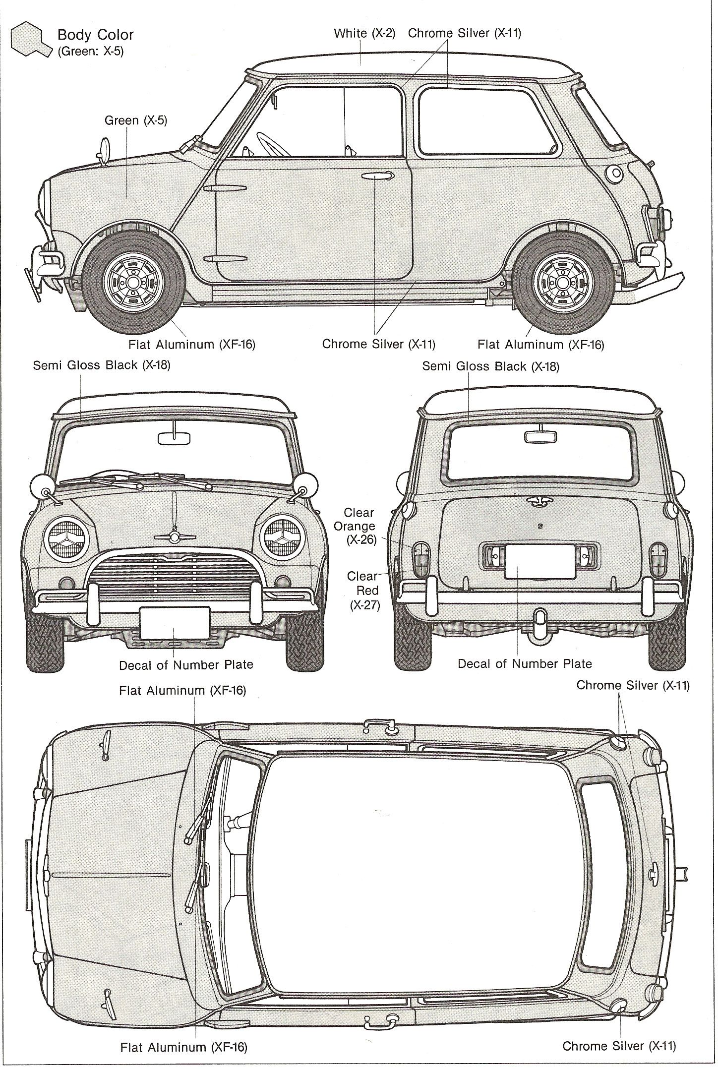 Old mini cooper blueprint mini clsico pinterest old mini cooper blueprint malvernweather Images