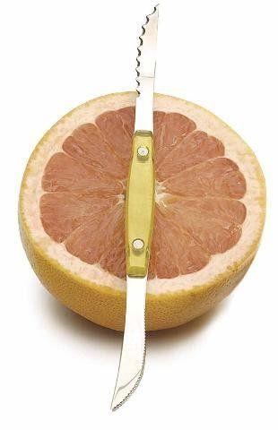 Endurance Stainless Acrylic Grapefruit Double Knife | Kitchenwarecide Store
