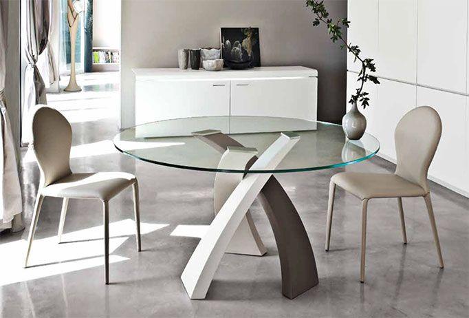Tavolo Estetista ~ Tavolo modello eliseo by tonin casa tavolo fisso con base in