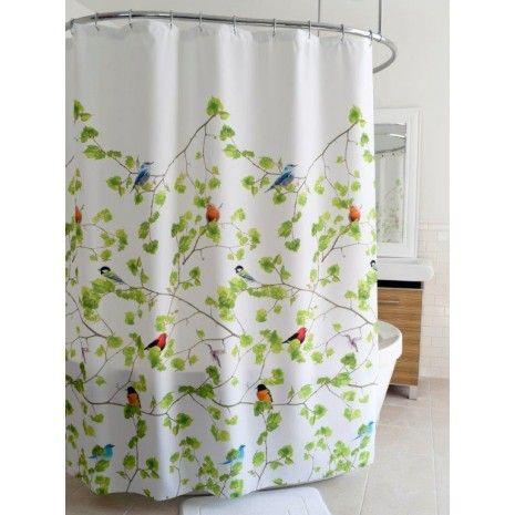 Rideau de douche en tissu « Terrasse » - Tissus - Rideaux de douche ...