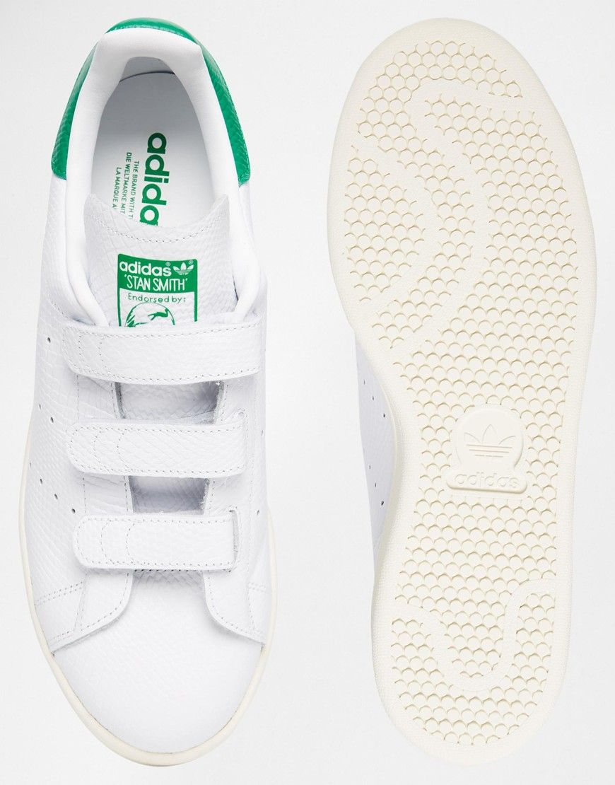competitive price bbc66 e4eac adidas stan smith velcro trainers