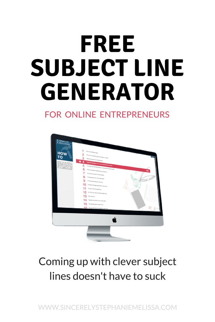 Write better subject for your email marketing with this free tool