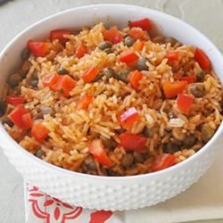 Rice with Green Pigeon Peas