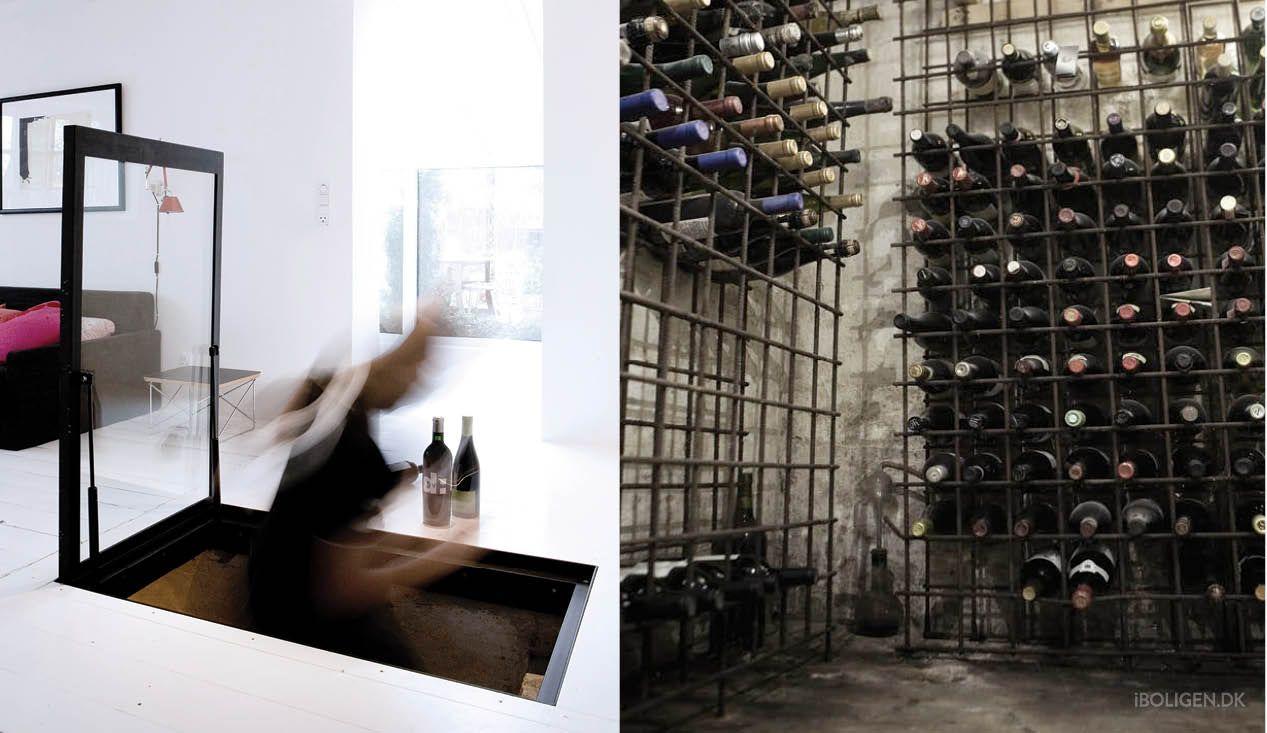 år gammel vinkælder i totalrenoveret fiskerhus wine cellars