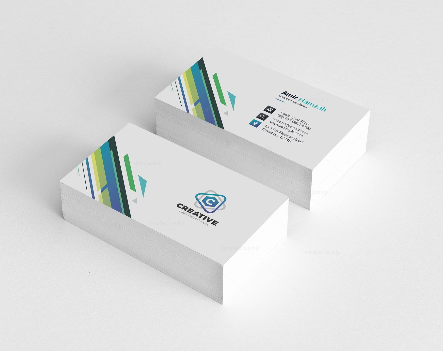 Smart Creative Business Card Design 002133 Template Catalog Business Cards Creative Business Card Design Creative Business Cards Creative Templates