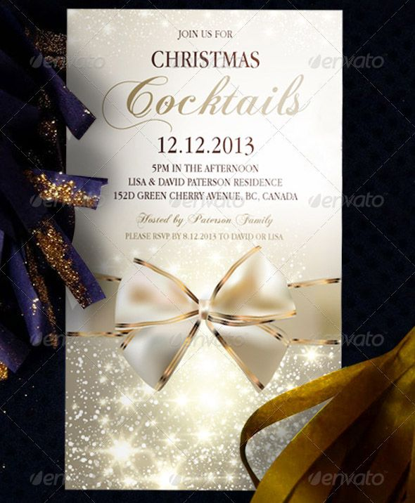 17 Great Christmas Party Invitation Card Eps Ai Psd Christmas Party Invitation Wording Christmas Party Invitation Template Party Invite Template