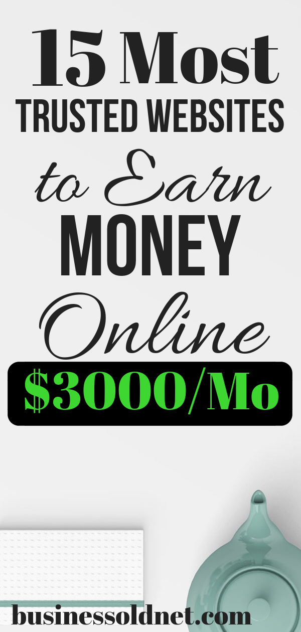 30 Best Websites to Earn Money on With Your