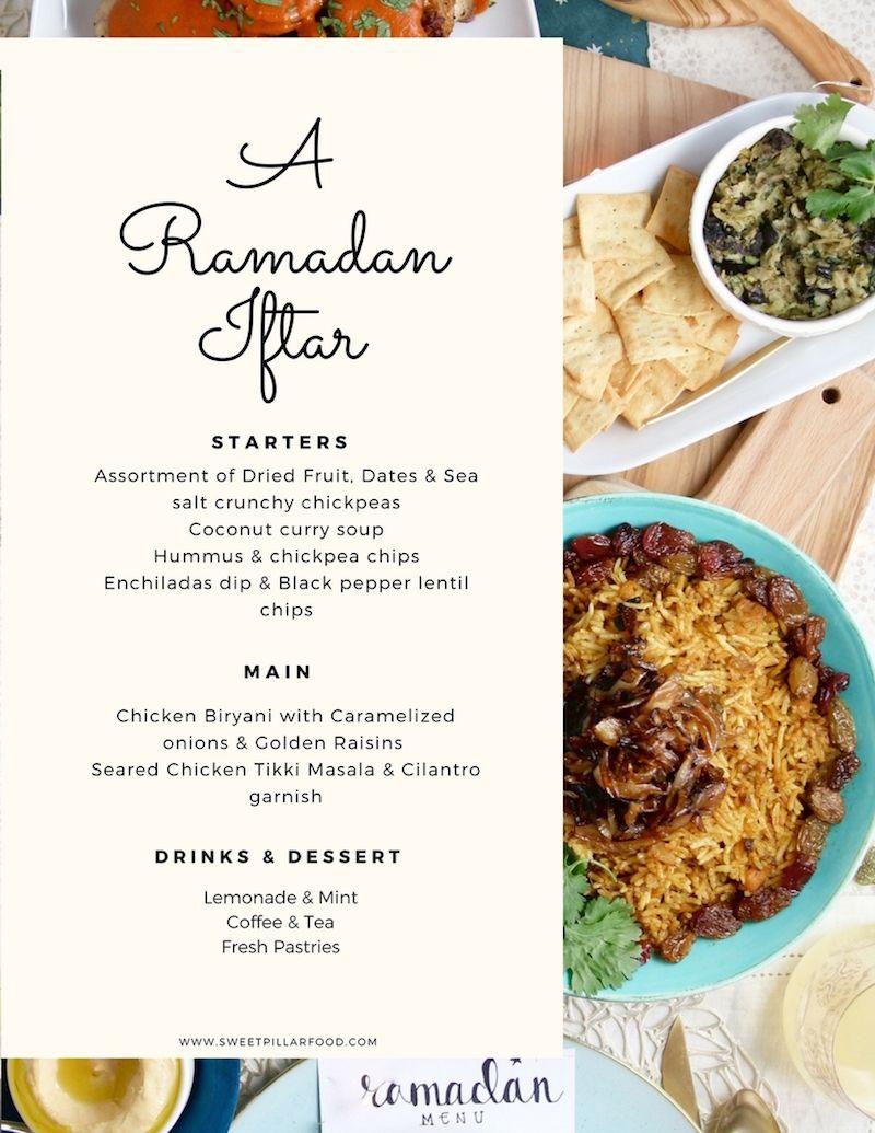 Ramadan Iftar With Whole Foods Food Whole Food Recipes Iftar