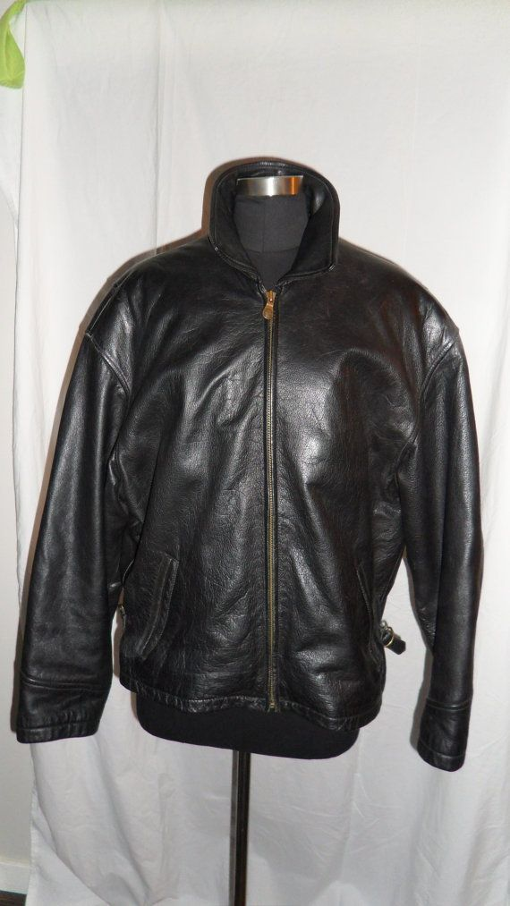 Your Place To Buy And Sell All Things Handmade Classic Jacket Leather Motorcycle Jacket Mens Bomber