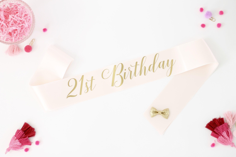 21 Birthday Sash 21 Birthday Gifts FINALLY 21 Birthday Sash 21st Birthday Party