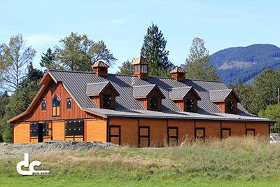 Alaska barn builders dc building barns pinterest for Luxury barn plans