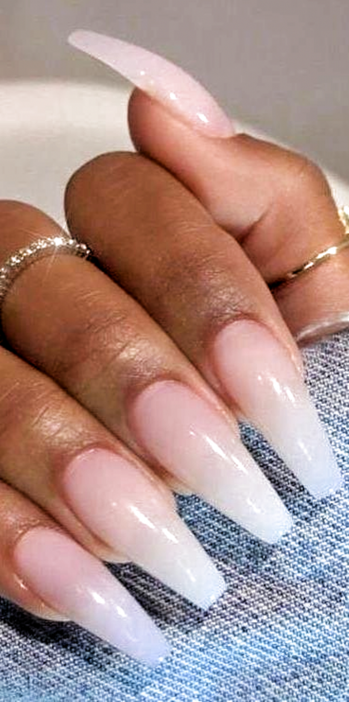 Pin On 80s Fashion In 2020 Winter Nails Acrylic Natural Acrylic Nails Acrylic Nails Coffin