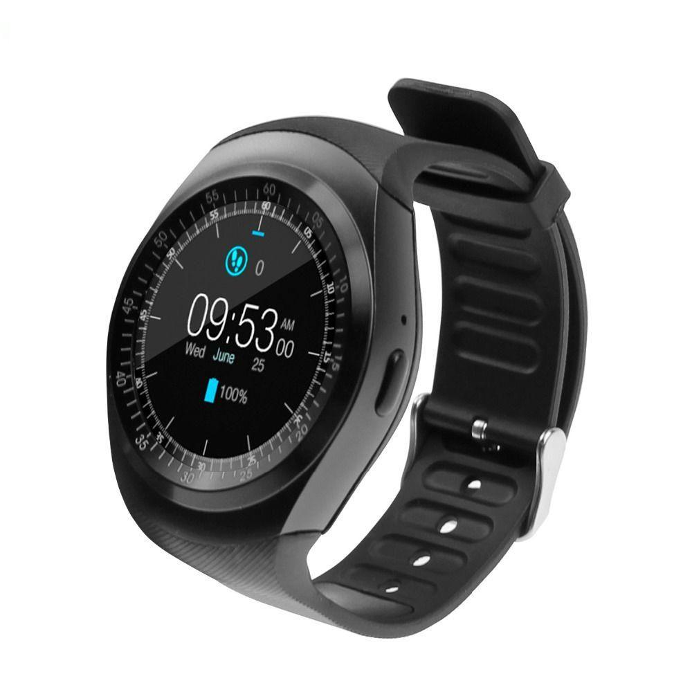 Smartwatch Bluetooth Y1 2G GSM SIM App Sync MP3 Smart Watch
