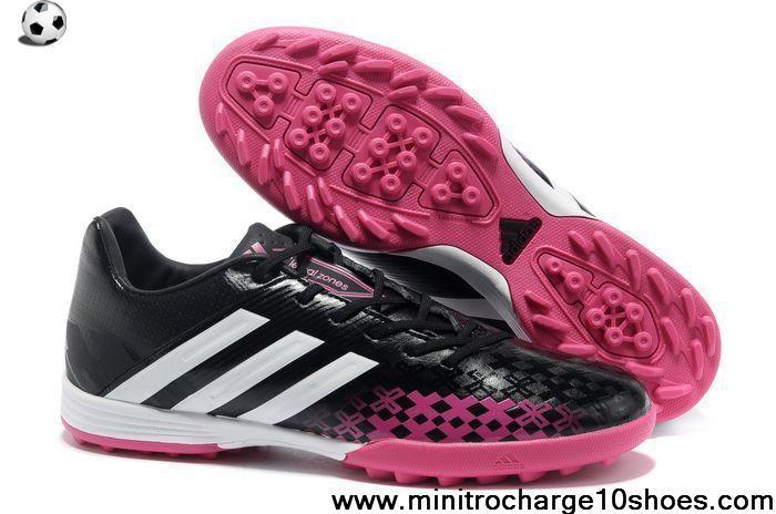 Low Price 2013 adidas Predator TF Black White Pink Soccer Shoes Store