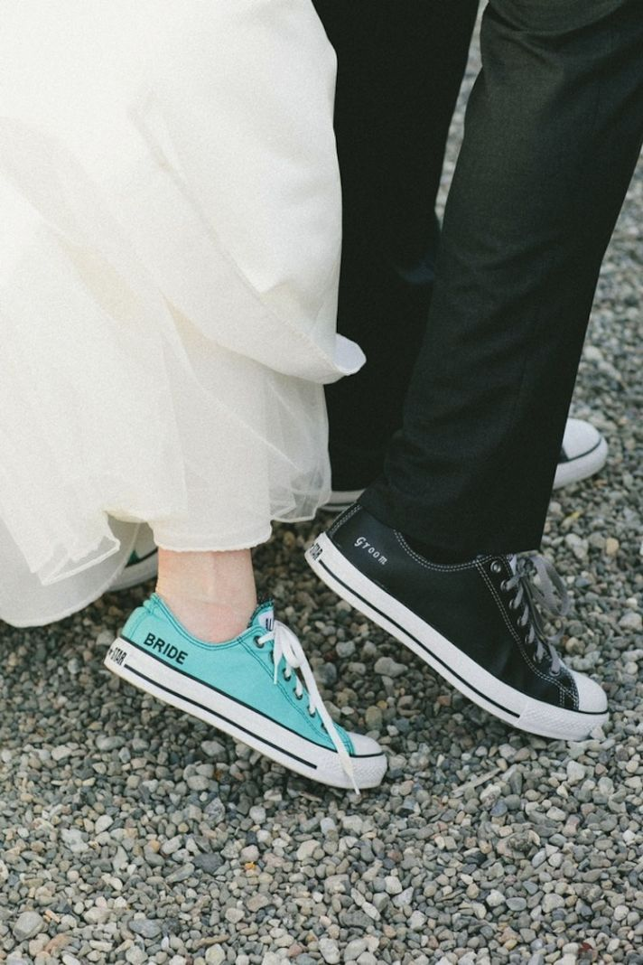 Something Blue on Your Wedding Shoe! | Bride to be Shoe-spiration ...