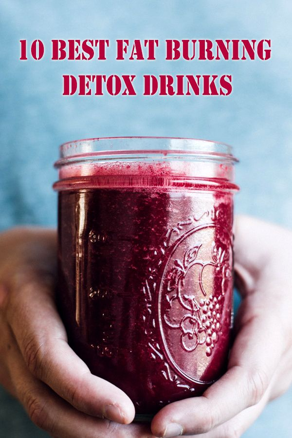 10 Best Fat Burning Detox Drinks