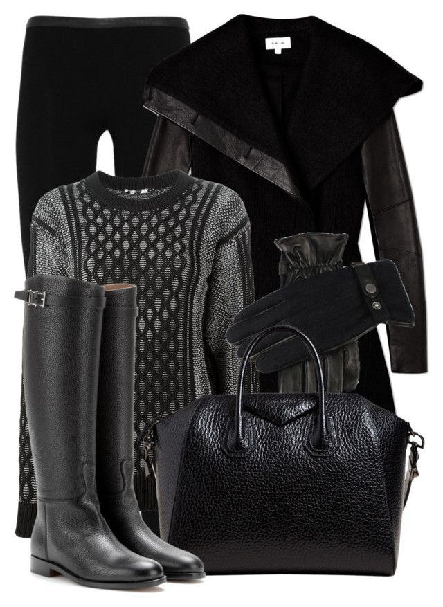 """""""Sem título #1783"""" by beatrizvilar ❤ liked on Polyvore featuring Emilio Pucci, Helmut Lang, T By Alexander Wang, Givenchy and Valentino"""