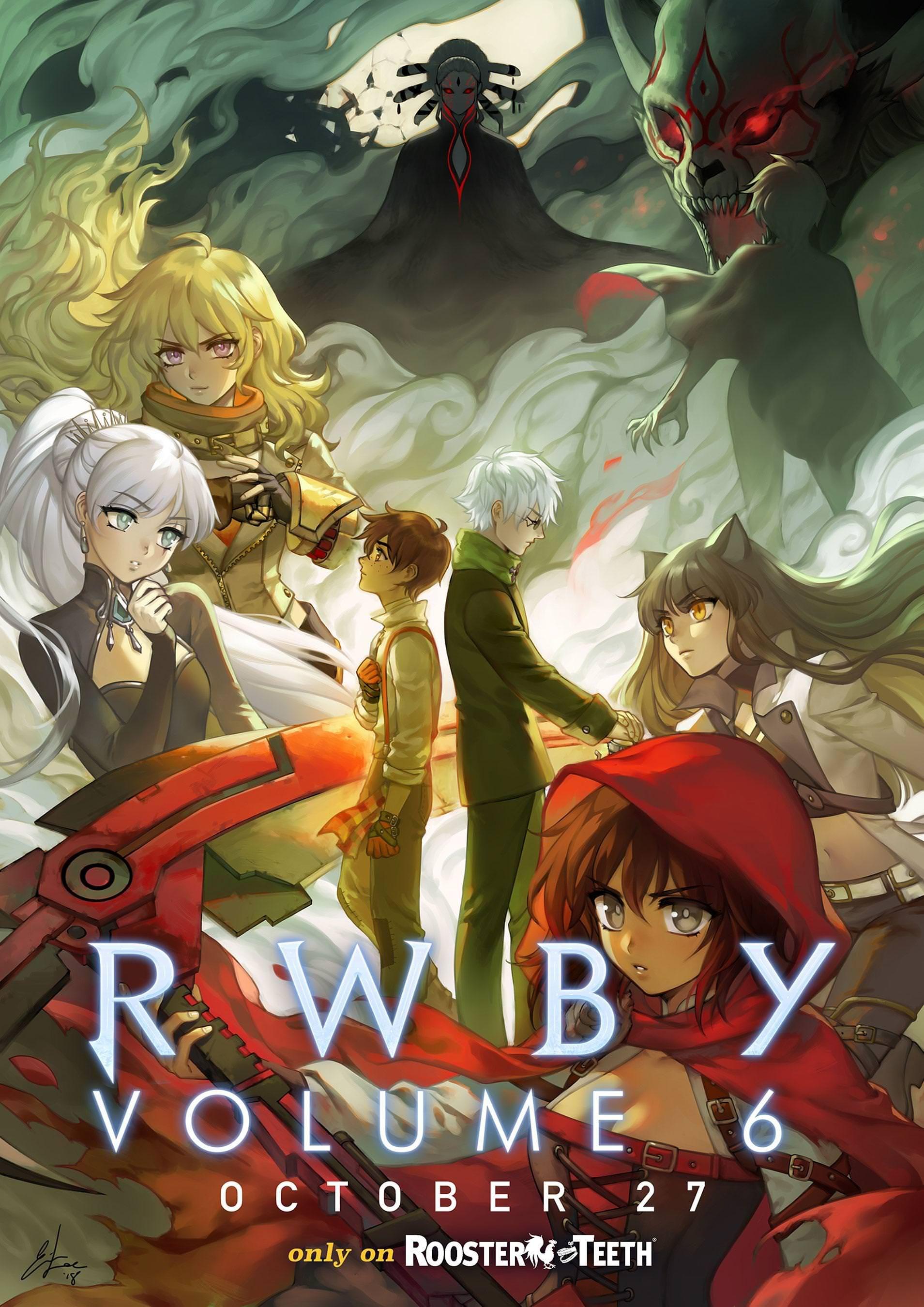 Imgur The magic of the Rwby anime, Rwby poster