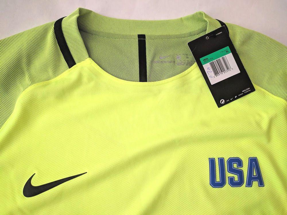 64bd518e MENS NIKE AEROSWIFT STRIKE DRILL TEAM USA FOOTBALL SOCCER TOP JERSEY XL  $120 #NIKE #Jerseys