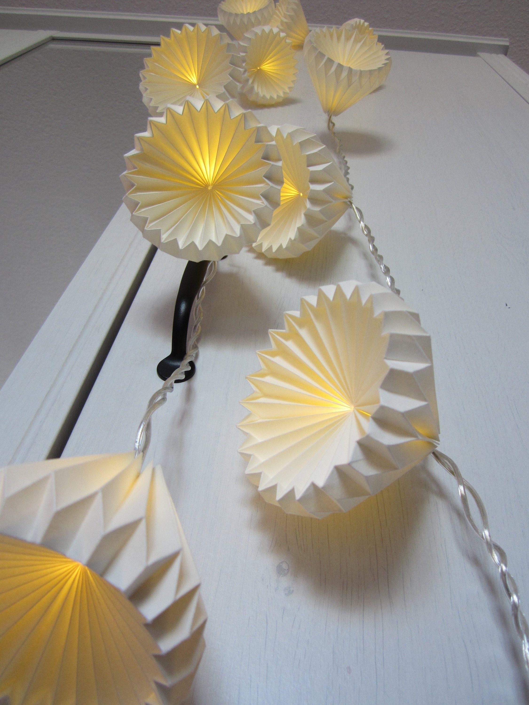 Origami Lichterketten