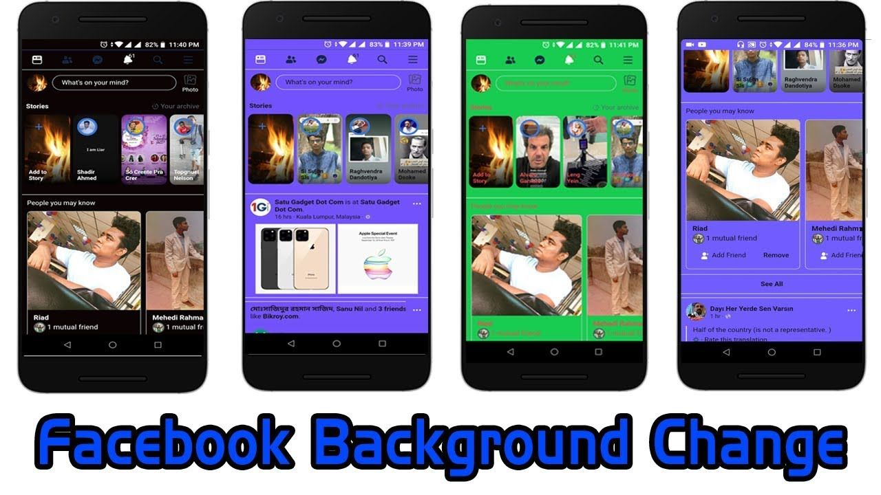 How To Change Facebook Background Color 2019 Best And Easiest Tricks Facebook Background Facebook Background Color Fb Background
