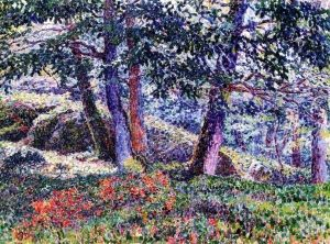 Oaks and Blueberry Bushes - Georges Lacombe - The Athenaeum