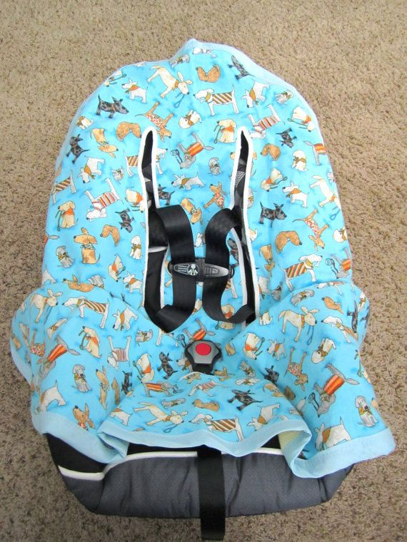Infant Car Seat Blanket Baby For By ChucksForChancho 2600