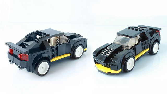 Lego 8880 As A Speed Champions Car With Instructions Flickr
