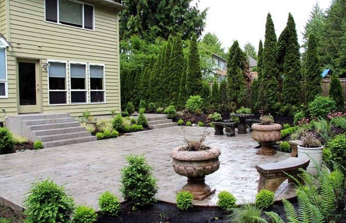 Nw Construction4 Concrete Patios Northwest Construction Landscape Llc Bremerton