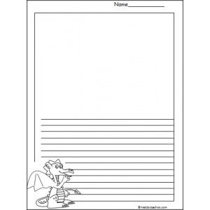 Dragon essay for kindergarten
