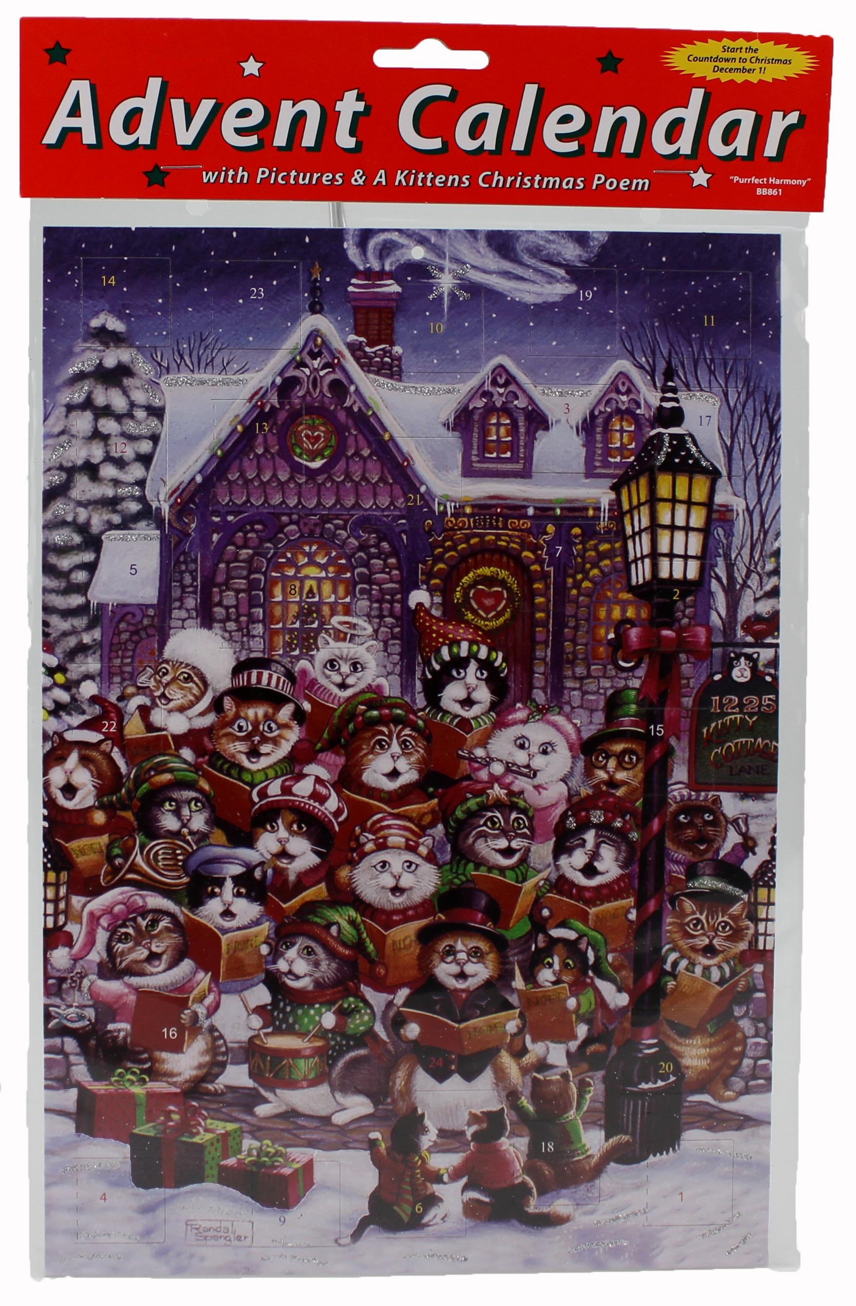 Purrfect Harmony Advent Calendar Christmas poems
