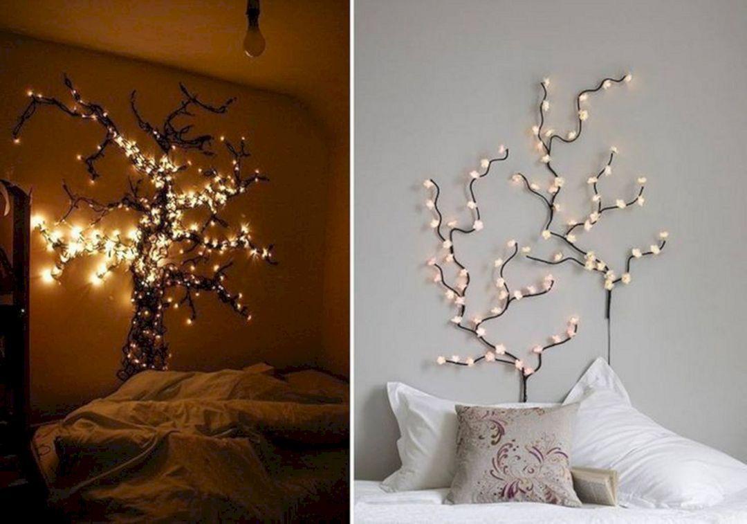 Beautiful Fairy Lights Bedroom Idea Decoredo Fairy Lights Bedroom Christmas Room Decor Wall Decor Bedroom