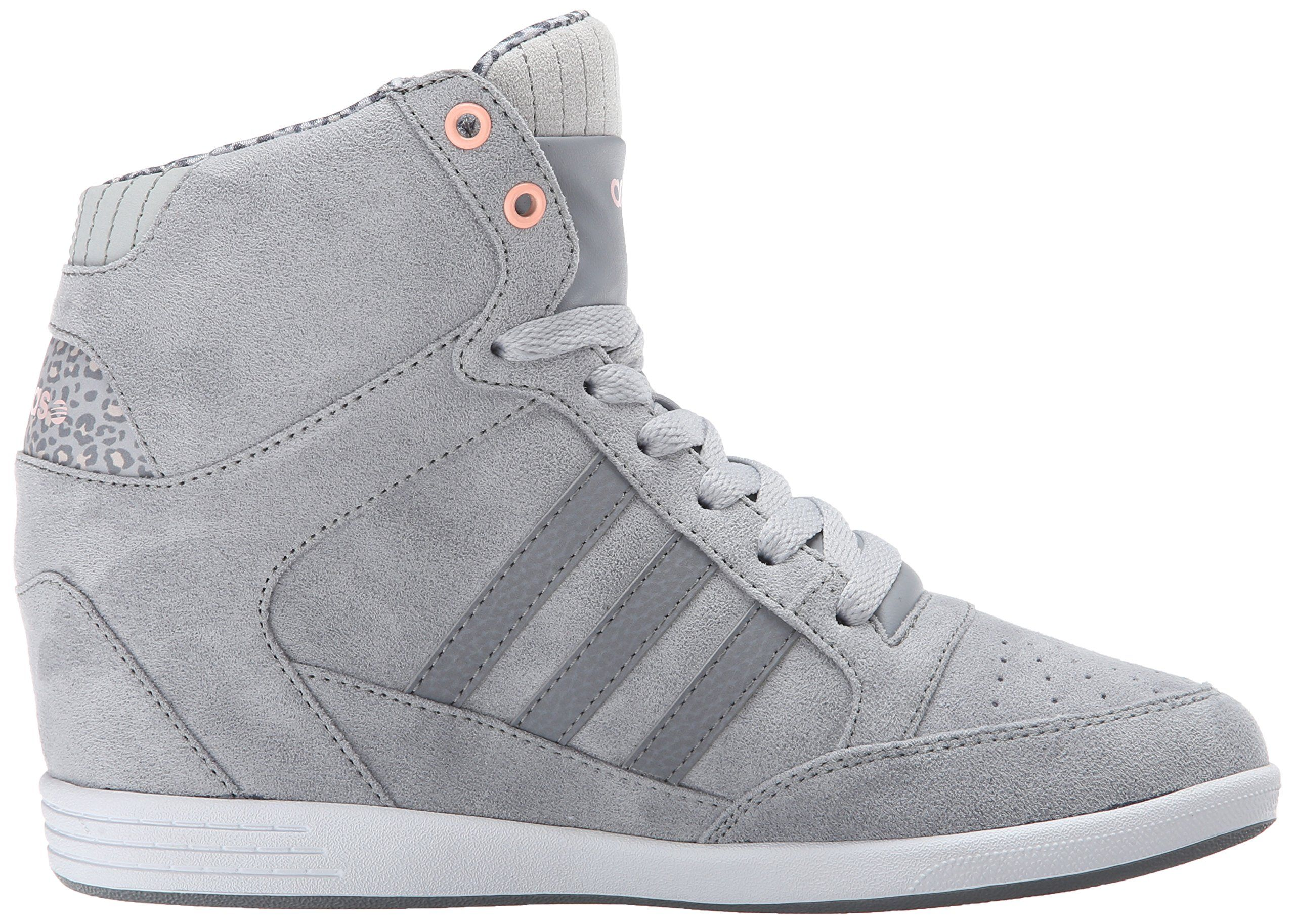 21e9bf9d7333 Amazon.com  adidas NEO Women s Weadidas NEO Super Wedge Sneaker  Shoes