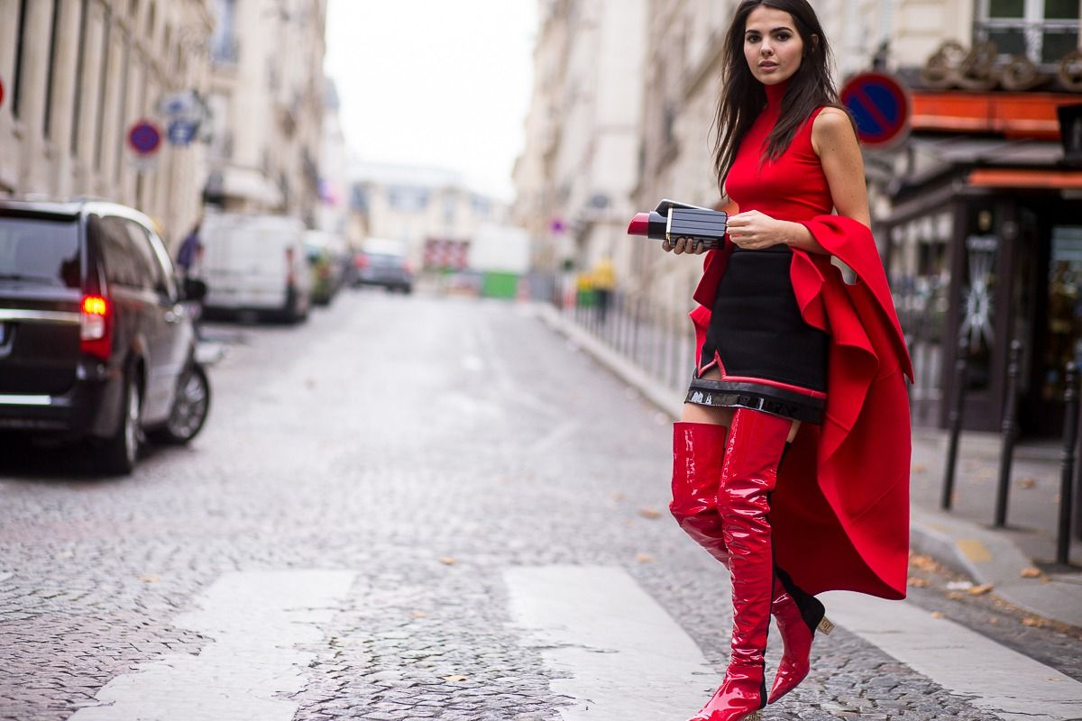 Paris Moda Haftası Başladı, Sokak Stili Göz Kamaştırıyor 59