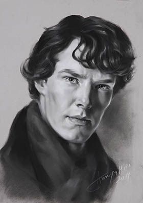 Get an A2 Poster Print of the Original Artwork from MasterpieceDirect. Now only £25.46 with discount code SHERLOCKOLOGY.