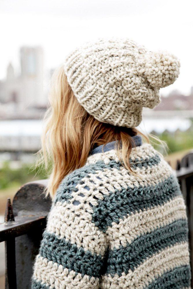 Thermal Toque Knitting pattern by Two of Wands | Slouch ...