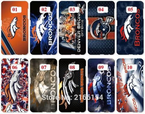 Denver Broncos (LOT OF 10) Plastic Hard Cover For Samsung Galaxy S2 S3 S4 S5 Mini S6 S7 Edge Plus Note 2 3 4 5 (FREE SHIPPING)